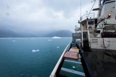 Towards Columbia Glacier
